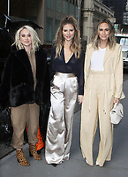 NEW YORK, NY - December 06: Becca Tobin, Jac Vanek, Keltie Knight seen after an appearance on  Michelle Collins Show at SiriusXM promoting the new E! show LadyGang on December 06, 2018  in New York City. Credit: RW/MediaPunch