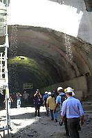 RIO DE JANEIRO, RJ, 30.10.2014 – EDUARDO PAES CELEBRA CONCLUSÃO DO TUNEL RIO 450 ANOS, EDUARDO PAES, O Prefeito Eduardo Paes comparece a conclusão do terceiro e último túnel que liga o centro à zona portuária, tunel Rio 450 anos,   zona portuaria do Rio de Janeiro, nesta quinta-feira, 30 (foto: Márcio Cassol/Brazil Photo Press)