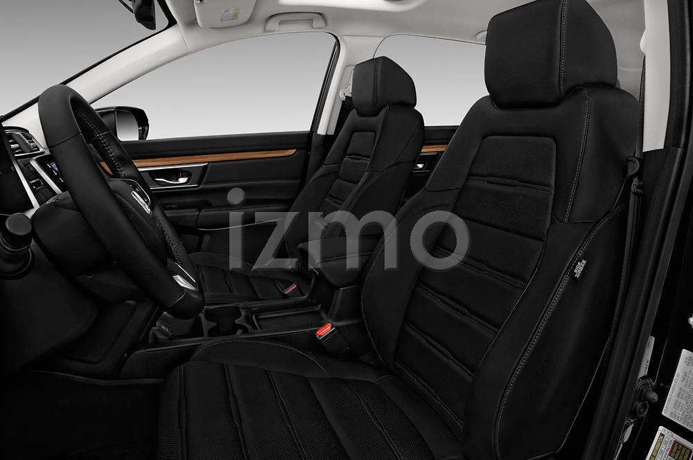 Front seat view of 2017 Honda CR-V EX-L 5 Door SUV Front Seat  car photos