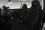 Front seat view of 2017 Honda CR-V EX-L 5 Door SUV Front Seat  car photos
