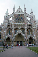 London: Westminster Abbey, North Transept 1245-1260. (During reign of Henry VII in the French style). Photo '05.