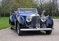 BNPS.co.uk (01202 558833)<br /> Pic: H&HClassics/BNPS<br /> <br /> 'W.O. Bentley's Masterpeice' - This 1939 stunner dubbed 'the most the most advanced motor car in pre WW2 Britain' has been restored for sale - but you'll need deep pockets for the £400.000 asking price.<br /> <br /> The beautiful Lagonda V12 Drophead Coupe was designed by W.O.Bentley just as storm clouds were gathering across Europe, and it's top speed of 140mph was unheard of at the time.<br /> <br /> It spent more than 40 years languishing in a barn before being uncovered in 2006.<br /> <br /> It was bought by a wealthy car enthusiast who paid for a full 'nut and bolt' restoration.<br /> <br /> The classy classic is now 'like new' and being sold at auctioneers H&H Classics of Warrington, Cheshire.