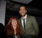 Jane Elissa and Zachary Levi (First Date and Chuck) - 70th Annual Theatre World Awards on June 2, 2014 at Circle on the Square, New York City, New York (Photo by Sue Coflin/Max Photos)