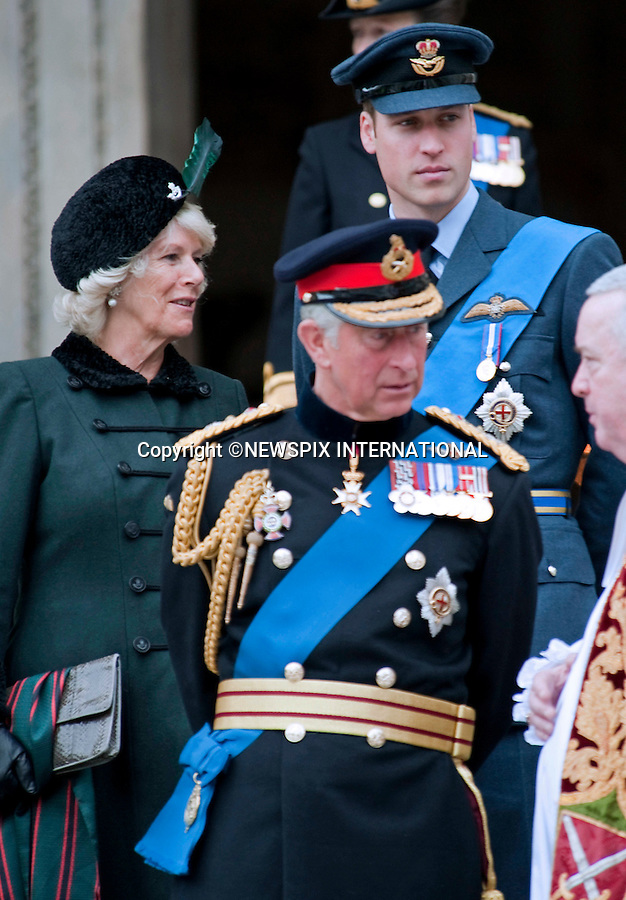 "PRINCES CHARLES AND WILLIAM.attended the Service of Commemoration to mark the end of combat operations in Iraq in St Paul's Catherdral, London_09/10/2009.Mandatory Photo Credit: ©Dias/Newspix International..**ALL FEES PAYABLE TO: ""NEWSPIX INTERNATIONAL""**..PHOTO CREDIT MANDATORY!!: NEWSPIX INTERNATIONAL(Failure to credit will incur a surcharge of 100% of reproduction fees)..IMMEDIATE CONFIRMATION OF USAGE REQUIRED:.Newspix International, 31 Chinnery Hill, Bishop's Stortford, ENGLAND CM23 3PS.Tel:+441279 324672  ; Fax: +441279656877.Mobile:  0777568 1153.e-mail: info@newspixinternational.co.uk"