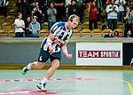 Stockholm 2013-10-20 Handboll Elitserien Hammarby IF - Alings&aring;s HK :  <br /> Hammarby 6 Adam Johansson jublar efter ett m&aring;l<br /> (Foto: Kenta J&ouml;nsson) Nyckelord:  jubel gl&auml;dje lycka glad happy