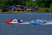 Frame 8: Final lap of heat race 2: Jeremiah Mayo (#8), Chris Hughes (#17)       (SST-45)