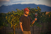 erath  160436 8/30/09-  Todd Bostock (CQ) owns Dos Cabezas WineWorks in Sonoita, AZ.  (Pat Shannahan/ The Arizona Republic)