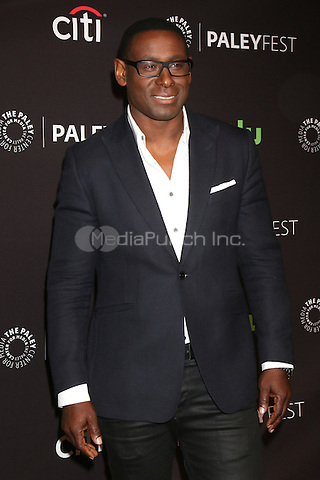 LOS ANGELES - MARCH 13: David Harewood at the 33rd Annual PaleyFest Presents - Supergirl at the Dolby Theater on March 13, 2016 in Los Angeles, CA. Credit: David Edwards/MediaPunch