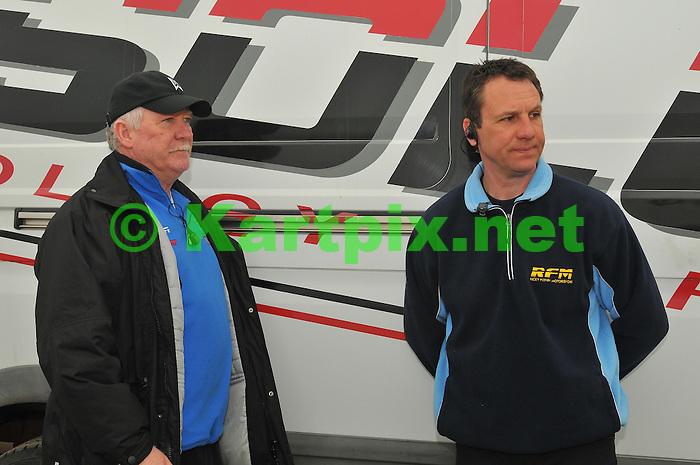 Terry Fullerton, Ricky Flynn, WSK, Misc, Garda.