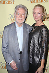 William Luce and Joely Richardson attend the Off-Broadway Opening Night Press reception for 'The Belle of Amherst'  at the Westside Theatre on October 19, 2014 in New York City.