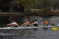 187 HAM .Reading Rowing Club Small Boats Head 2011. Tilehurst to Caversham 3,300m downstream. Sunday 16.10.2011