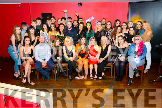 Rayna Murphy and Karolina Maj both from Killarney celebrated their 18th birthday surrounded by their friends and family in the K-Town Bar, Killarney last Saturday night.