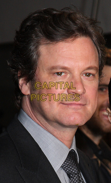 COLIN FIRTH  .London Critics' Circle Film Awards at BFI Southbank, London, England..February 10th 2011.ALFS headshot portrait black blue .CAP/ROS.©Steve Ross/Capital Pictures