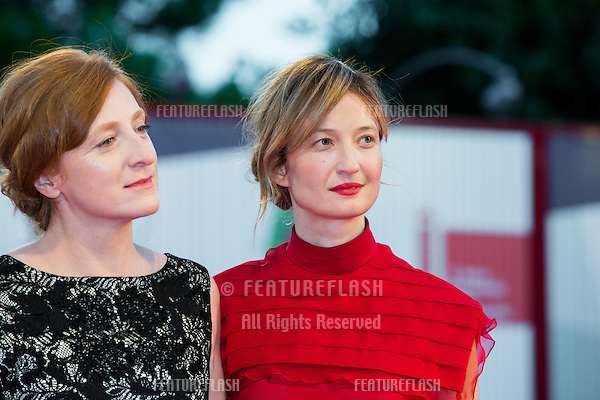 Federica Fracassi &amp; Alba Rohrwacher at the premiere of Blood Of My Blood at the 2015 Venice Film Festival.<br /> September 8, 2015  Venice, Italy<br /> Picture: Kristina Afanasyeva / Featureflash