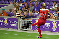 Orlando, FL - Tuesday August 08, 2017: Estelle Johnson during a regular season National Women's Soccer League (NWSL) match between the Orlando Pride and the Chicago Red Stars at Orlando City Stadium.