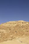 Dead Sea valley, Haetekim cliff overlooking Qumran