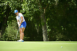 HOUSTON, TX - MAY 19: Olivia Reed of Grand Valley State putts the ball during the Division II Women's Golf Championship held at Bay Oaks Country Club on May 19, 2018 in Houston, Texas. (Photo by Justin Tafoya/NCAA Photos via Getty Images)