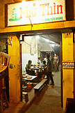 VIETNAM, Hanoi, Pho Thin restaurant at night, located on Dinh Tien Hoang street by Hoan Kiem Lake