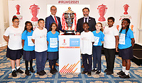 """Picture by Simon Wilkinson/SWpix.com - 19/06/2018 - Rugby League World Cup 2021 """"Inspired By"""" Launch Event, The Mansion House, City of London<br /> - Jon Dutton and Mark Devlin"""