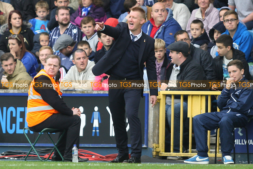 Steve Lomas manager of Millwall - Millwall vs Leeds United - Sky Bet Championship Football at the New Den, South Bermondsey, London - 28/09/13 - MANDATORY CREDIT: George Phillipou/TGSPHOTO - Self billing applies where appropriate - 0845 094 6026 - contact@tgsphoto.co.uk - NO UNPAID USE