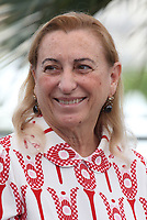 Fashion designer Miuccia Prada attends the 'The Killing Of A Sacred Deer' at the 70th annual Cannes Film Festival at Palais des Festivals on May 22, 2017 in Cannes, France.<br /> CAP/GOL<br /> &copy;GOL/Capital Pictures
