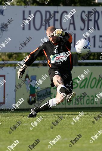 2009-07-19 / Seizoen 2009-2010 / Voetbal / Katelijne FC / Doelman Jan Vercammen..Foto: Maarten Straetemans (SMB)