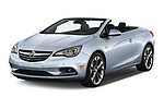 2016 Buick Cascada Premium 2 Door Convertible Angular Front stock photos of front three quarter view