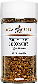 10521 Coffee Flavored Chocolate Decoratifs, Small Jar 2.4 oz