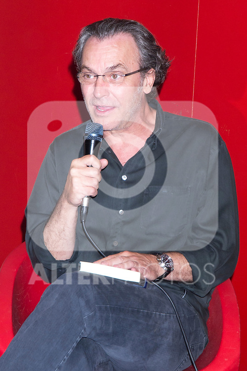 22.06.2012. Presentation in Fnac Callao in Madrid of the book ´Glory Mia' by Manuel Gutierrez Aragon with the presence of actors Jose Coronado and Marta Etura. In the picture: Jose Coronado (Alterphotos/Marta Gonzalez)