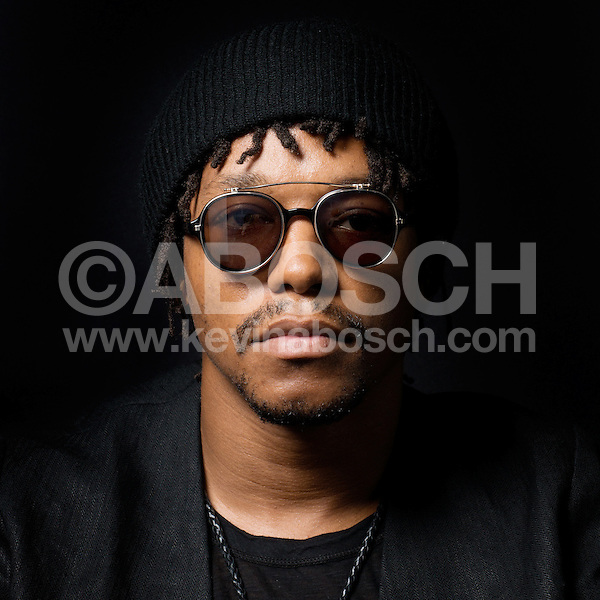 Portrait of Lupe Fiasco photographed by Kevin Abosch