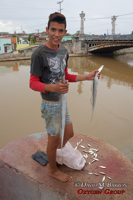 Fisherman With Catch