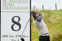 Neil O'Briain (IRL) during the final round of the Monaghan Irish Challenge, Concra Wood, Monaghan, Ireland. 7-10-2018.<br /> Picture Fran Caffrey / Golffile.ie<br /> <br /> All photo usage must carry mandatory copyright credit (© Golffile | Fran Caffrey)