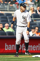 09/19/11 Bronx, NY: New York Yankees designated hitter Jesus Montero #63 during an MLB game played at Yankee Stadium between the Minnesota Twins and the New York Yankees. The Yankees defeated the Twins 6-4.