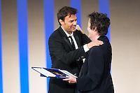 François Ozon, winner of golden shell for best film Dans la Maison