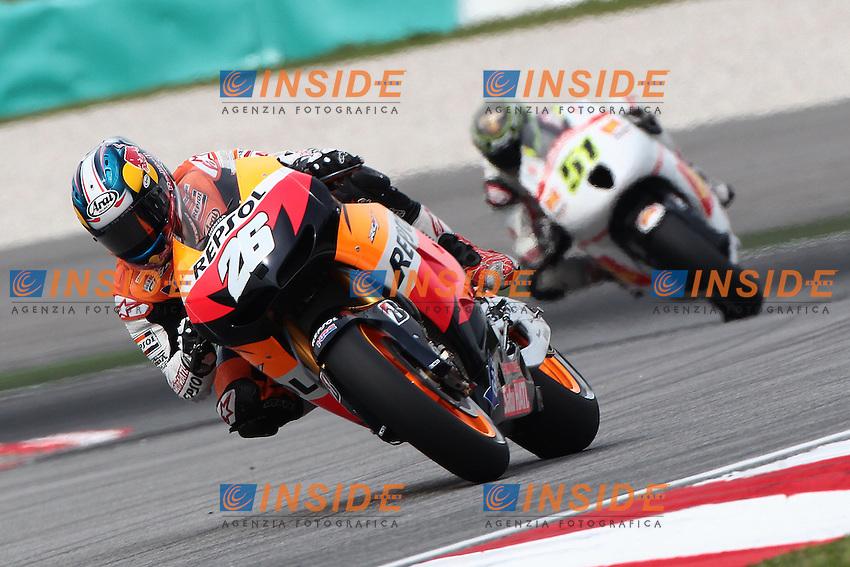 .19-10-2012 Sepang (MAL).Motogp - motogp.in the picture: Dani Pedrosa - Repsol Honda team
