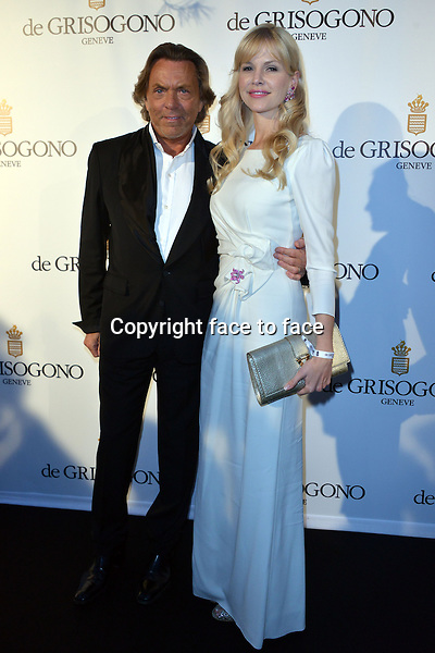 Otto and Naomi Kern attending the Grisogono party, at the hotel Eden Roc, in Antibes, during the 66th annual International Cannes Film Festival in Cannes, France, 21th May 2013. Credit: Timm/face to face