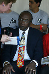 CONCACAF president Jack Warner at Nickerson Field in Boston MA on 7/13/03 during a game between the Boston Breakers and Philadelphia Charge. The Breakers won 3-1.