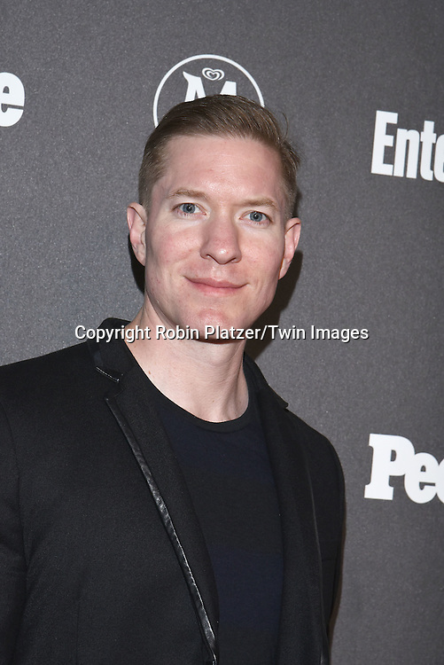 Joseph Sikora attends the Entertainment Weekly &amp; PEOPLE Magazine New York Upfronts Celebration on May 16, 2016 at Cedar Lake in New York, New York, USA.<br /> <br /> photo by Robin Platzer/Twin Images<br />  <br /> phone number 212-935-0770