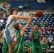 Van Buren at Springdale Har-Ber basketball 2/21/2017