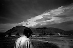 wana, waziristan, april 2004: the foothills of wana<br />
