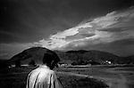 wana, waziristan, april 2004: the foothills of wana<br />