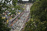 The start of Stage 6 of the 2018 Tour de France running 181km from Brest to Mur-de-Bretagne Guerledan, France. 12th July 2018. <br /> Picture: ASO/Pauline Ballet | Cyclefile<br /> All photos usage must carry mandatory copyright credit (&copy; Cyclefile | ASO/Pauline Ballet)