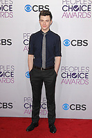 LOS ANGELES, CA - JANUARY 09: Chris Colfer at the 39th Annual People's Choice Awards at Nokia Theatre L.A. Live on January 9, 2013 in Los Angeles, California. Credit: mpi21/MediaPunch Inc. /NORTEPHOTO