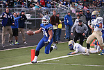 Carson's Elijah Fajayan scores against Reed during the NIAA D-1 Northern Regional title game at Bishop Manogue High School in Reno, Nev., on Saturday, Nov. 29, 2014. Reed won 28-25.<br /> Photo by Cathleen Allison