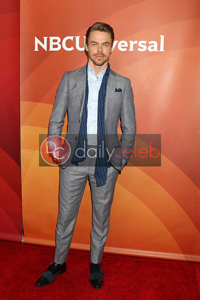 Derek Hough<br /> at the NBCUniversal Summer Press Day, Beverly Hilton, Beverly Hills, CA 03-20-17<br /> David Edwards/DailyCeleb.com 818-249-4998