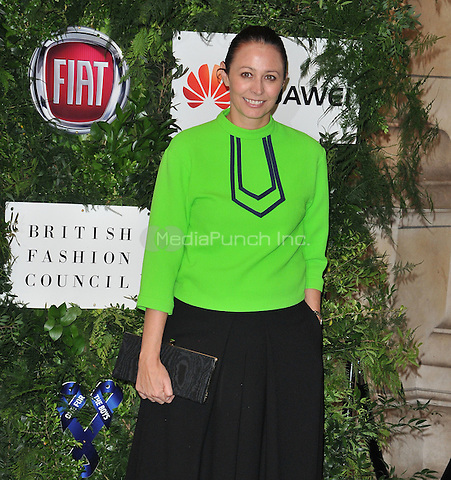 Caroline Rush at the One For The Boys Charity Ball in aid of the One For The Boys charity, Victoria &amp; Albert Museum, Cromwell Road, London, England, UK, on Sunday 12 June 2016.<br /> CAP/CAN<br /> &copy;CAN/Capital Pictures /MediaPunch ***NORTH AND SOUTH AMERICAS ONLY***