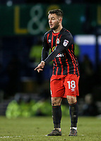 Blackburn Rovers' Adam Armstrong calls for the ball<br /> <br /> Photographer Andrew Kearns/CameraSport<br /> <br /> The EFL Sky Bet League One - Portsmouth v Blackburn Rovers - Tuesday 13th February 2018 - Fratton Park - Portsmouth<br /> <br /> World Copyright &copy; 2018 CameraSport. All rights reserved. 43 Linden Ave. Countesthorpe. Leicester. England. LE8 5PG - Tel: +44 (0) 116 277 4147 - admin@camerasport.com - www.camerasport.com