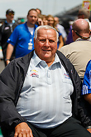 May 26, 2017; Indianapolis, IN, USA; IndyCar Series team owner A.J. Foyt during Carb Day for the 101st Running of the Indianapolis 500 at Indianapolis Motor Speedway. Mandatory Credit: Mark J. Rebilas-USA TODAY Sports