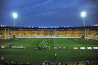 A general view of Westpac Stadium during the ITM Cup rugby union match between Wellington Lions and Southland Stags at Westpac Stadium, Wellington, New Zealand on Sunday, 2 September 2012. Photo: Dave Lintott / lintottphoto.co.nz