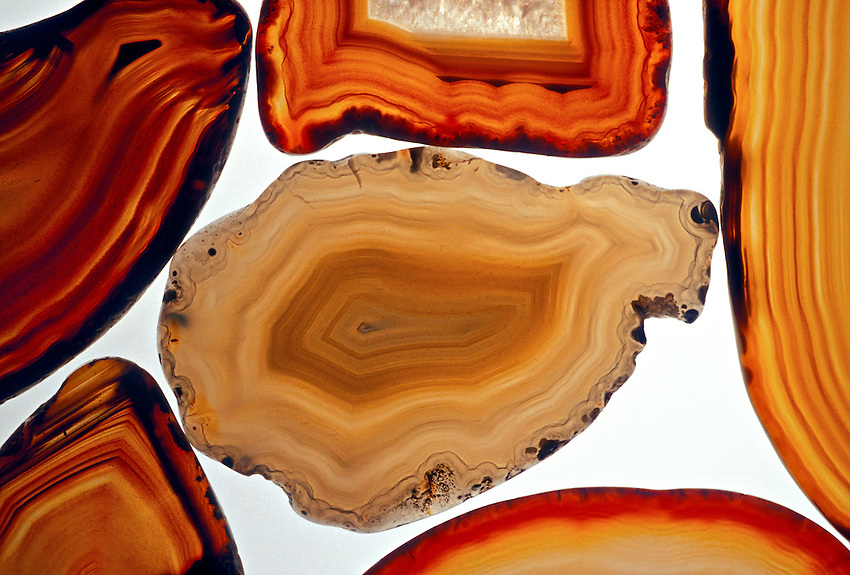 Agates and other unique stones from Lake Superior near Marquette, Michigan.
